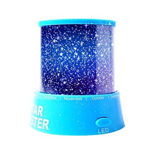 Aeeque® Romantisch/Blau Sternenhimmel Mini-Stern-Projektor/mit USB Kabel/LED Nachtlicht Projektor Lampe Kinder Nachttischlampe Schlafzimmer Haus Dekoration