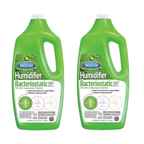 BestAir 3BT, Original BT Humidifier Bacteriostatic Water Treatment, 32 oz (2 Pack)