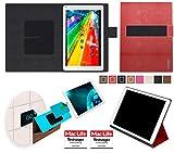 reboon Hülle für Archos 101c Platinum Tasche Cover Case Bumper | in Rot Leder | Testsieger