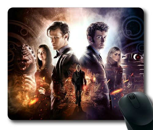 UPNOW Tappetino per Mouse Doctor Who TV Tappetino per Mouse Rettangolo di ieasycenter di Rectangle Mousepad