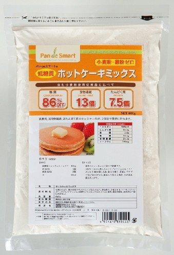 パンdeスマート 低糖質ホットケーキミックス600g【ミックス粉】【糖質86%OFF】【糖質制限食品】