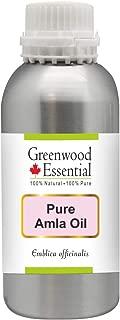 Greenwood Essential Pure Amla Oil (Emblica officinalis) 100% Natural Therapeutic Grade 300ml (10.1 oz)