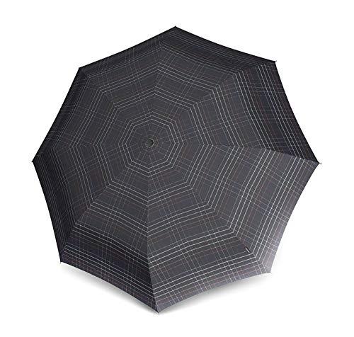 Knirps Topmatic SL Check Black Regenschirm