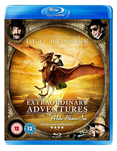 Adèle und das Geheimnis des Pharaos / The Extraordinary Adventures of Adèle Blanc-Sec [UK Import] [Blu-ray]