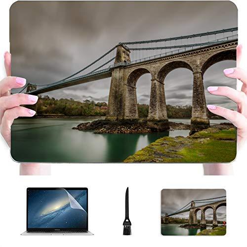 11 MacBook Air Case Dangerous Suspension Bridge Plastic Hard Shell Compatible Mac Air 13' Pro 13'/16' Mac Book Pro Case Protective Cover for MacBook 2016-2020 Version