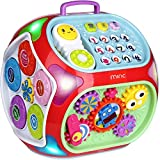 Miric - 7 en 1 Música Cubo de Actividades Juguetes Bebes 1 Año con Sonido,...