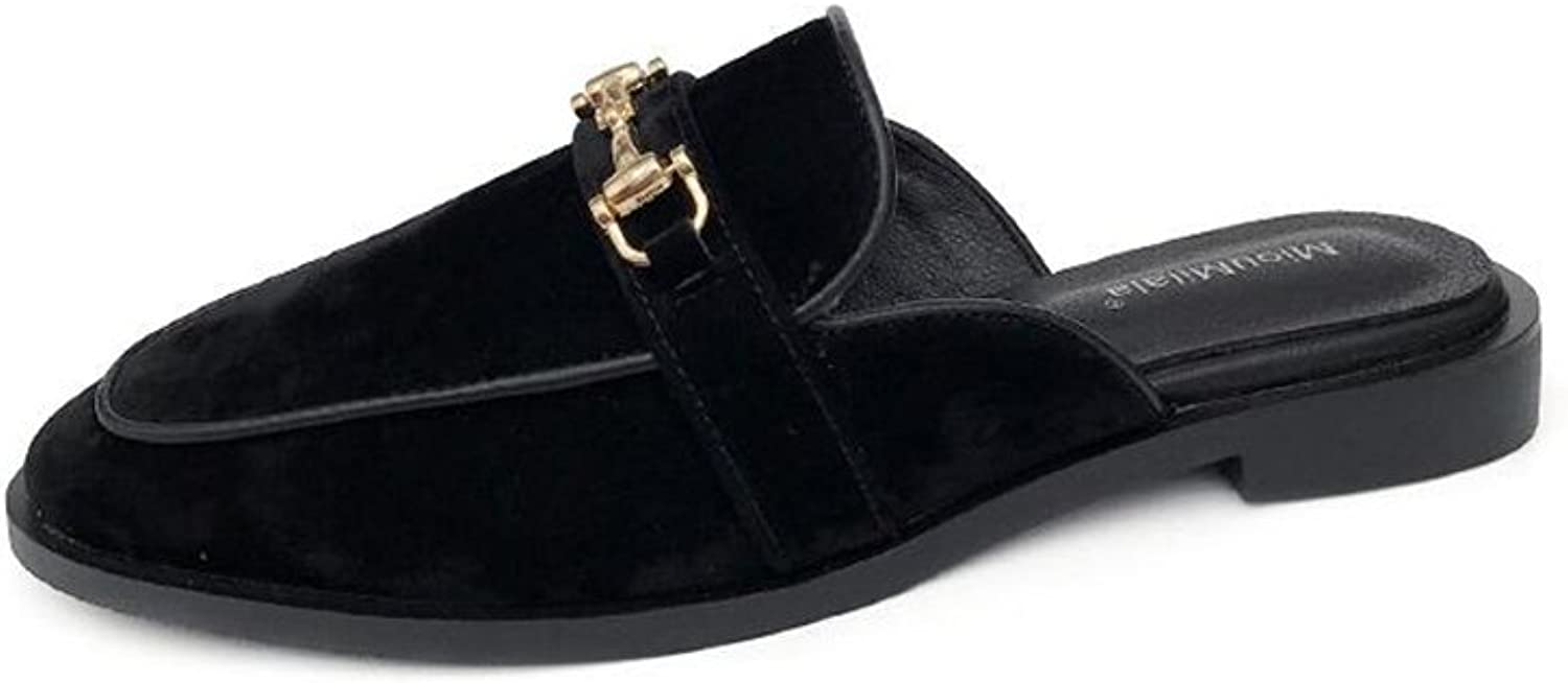 Cloudless Women's Comfort Florent Leather Open Toe Mules