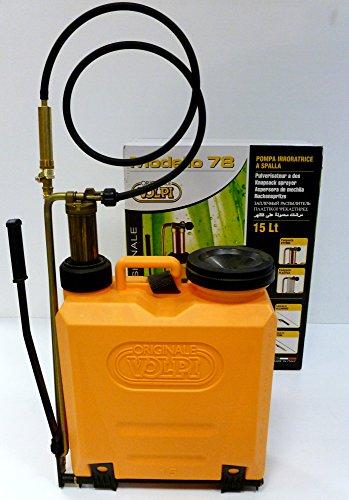 Pompe irroratrice a zaino 15 lt. pompante ottone 78SF