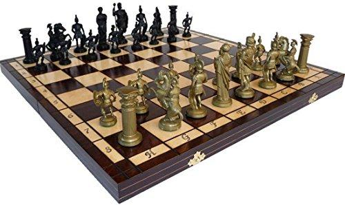 ChessEbook Schachspiel SPARTAN 49 x 49 cm