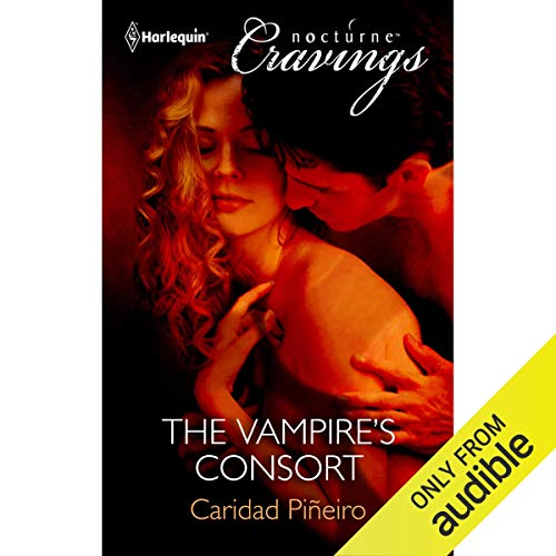 The Vampire's Consort audiobook cover art