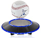 Levitating Bluetooth Speaker - Floating Wireless Speaker - SciFi Baseball Speaker by Wasserstein (Baseball)