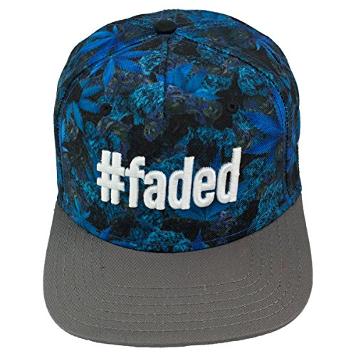 Cayler and Sons #Faded Cap Blue Buds Grey White
