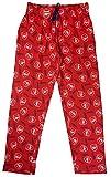 Herren Offiziell Arsenal AFC Fußball Freizeithose Lang Pyjamahose Größe M Groß Rot - Blau, Large
