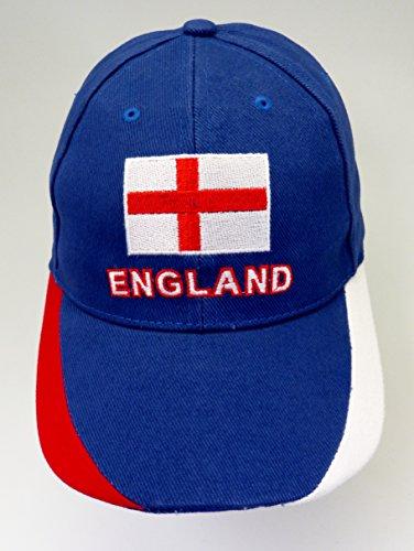 Angleterre casquette bleu