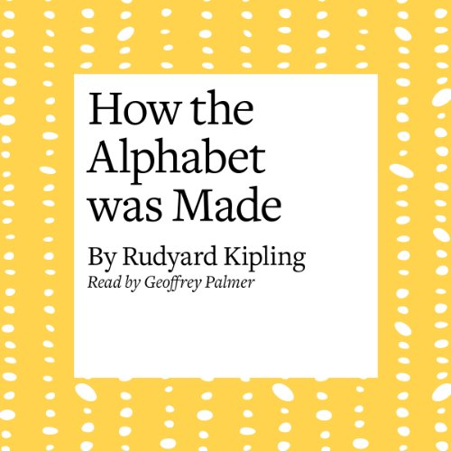 『How the Alphabet Was Made』のカバーアート