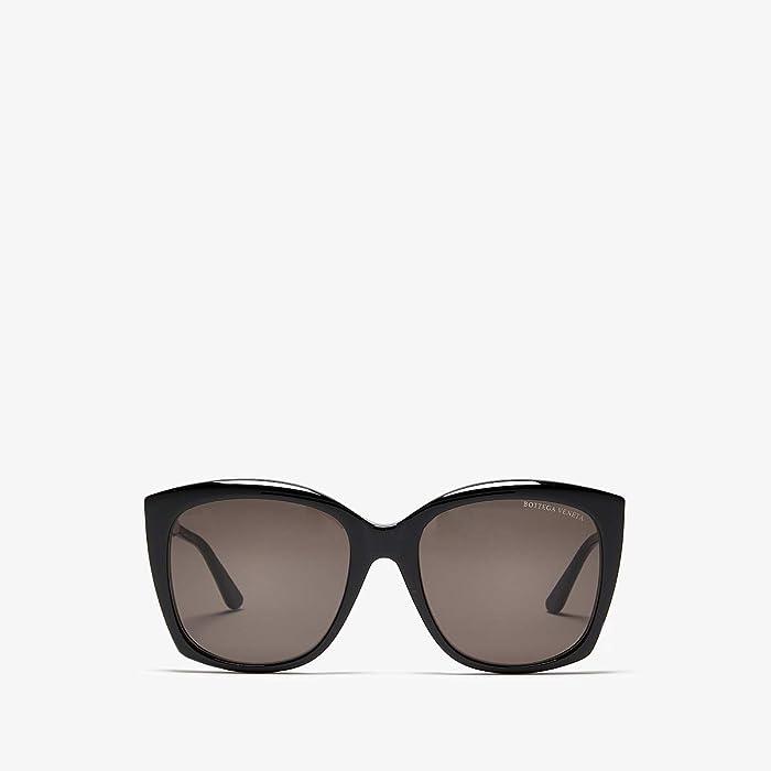 Bottega Veneta  BV0182S (Black) Fashion Sunglasses