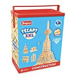 Jeujura - 8322- Jeux de Construction-Tecap Baril de Planchettes 3XL - 200 Pieces