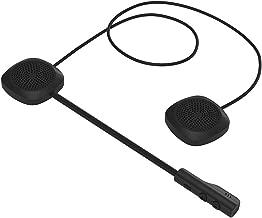 Docooler - Auriculares de Casco para Motocicleta, Bluetooth 5.0 + Auriculares EDR, inalámbricos, Manos Libres, con micrófono Music Call Control