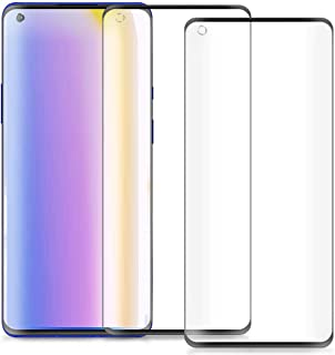 FanTing for OnePlus 8 Pro Screen Protector,[9H Hardness,Full Coverage,No bubbles and fingerprint],Scratch-resistant high-q...