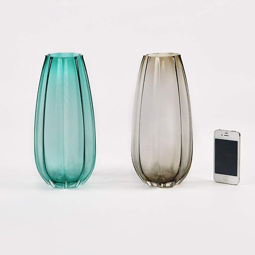 コンピューターを使用する皮肉なくつろぎ花瓶 ウェディングデコレーションルームアクセサリー手作りデバイス文学感ホーム小テクスチャデスクトップピュアカラーガラス (Color : C)