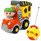 Little Pretender Toddler & Baby Remote Control Car | Garbage RC Truck | Remote Control Car for Boys & Girls Ages 18 Months to 5 Years