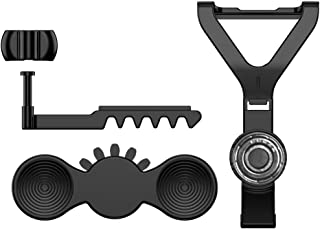 YOTHG Steering Wheel Kit Easy to Assemble Racing Replacement Gamepad Electronics Cars Game Assist Controller Accessories Mini Add-on Tools Practical Parts for Xbox One(Black)