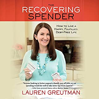 The Recovering Spender audiobook cover art
