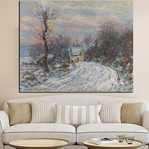 Pintura sin Marco Arte impresionista Lienzo Impresiones