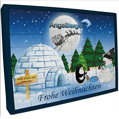 Angel Berger Adventskalender Weihnachtskalender Angelkalender (Angel Berger Adventskalender Allround)