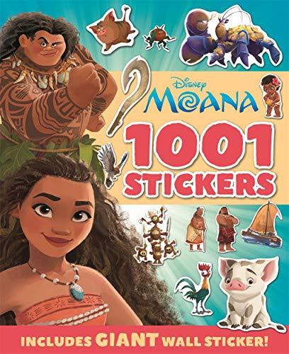 Disney - Moana: 1001 Stickers (1001 Stickers Disney)