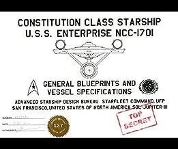 Constitution Class Starship U.S.S. Enterprise NCC-1701