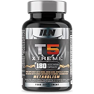 Iron Labs Nutrition, T5 Xtreme - Contains Biotin which contributes to normal macronutrient Metabolism - 180 Capsules:Lidl-pl