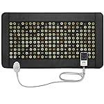 UTK Quantum Wave Heating pad Infrared Heating Pad for Pain Relief, Quantum Heating Mat,32 Manget Stones,40 Tourmaline Stones,148 Natural Jade Stones,Memory Function,Auto Shut Off (Mplus: 21'' x 38'')