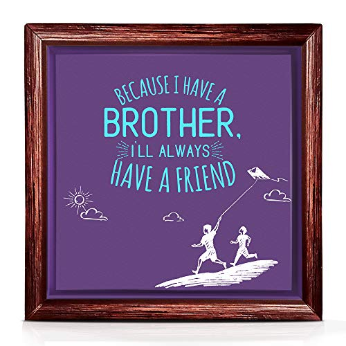 Presents For Your Brother | Decor For Your Big Brother's House or Office | Ideas For Brother Birthday Gifts | Gifts For Brother From Sister | Cool Quotes To Decorate Your Space
