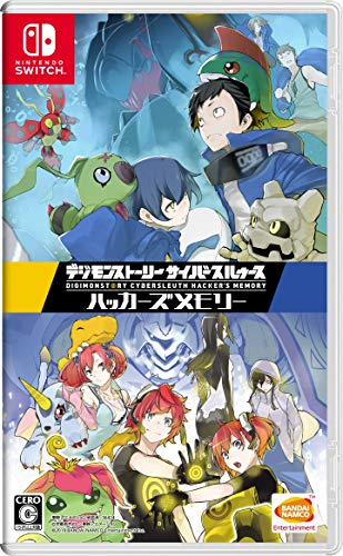 BANDAI NAMCO DIGIMON STORY CYBER SLEUTH FOR NINTENDO SWITCH REGION FREE JAPANESE VERSION