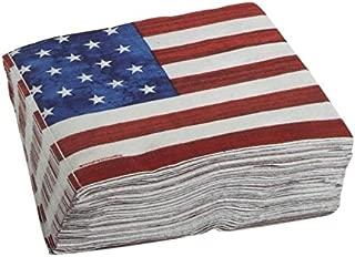 stars and stripes paper napkins