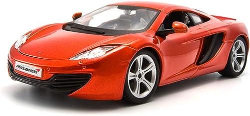 JIANPING Modèle de Voiture McLaren MP4-12C modèle 1 24 Simulation de Moulage en Matrice en Alliage de Voiture de Jouet Vitesse et Passion 7 Voiture de Simulation Modèle de Voiture