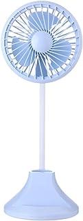 Mini Humidificador Portátil de Ventilador de Verano de a Prueba Proteja Del Inversor Para El Enfriador de La Casa de Pie Portátil Viento Natural de Oficina Purificador de Aire (Azul)