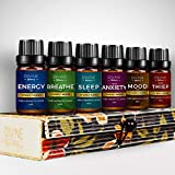 USA Aromatherapy Essential Oil Immunity Blend Set of top 6 Pure Therapeutic Grade Oils 10 ml Synergy...