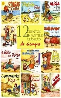 12 cuentos infantiles clásicos de siempre (Spanish Edition)