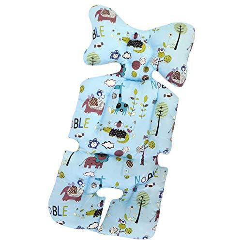 Universal Sitzauflage für Kinderwagen, Buggy Kindersitz und Babyschale, Atmungsaktive Sitzeinlage, Cover Kinderwagen Kissen für kinderwagen,Kinderwagen Sitzauflage Sitzpolster (K)