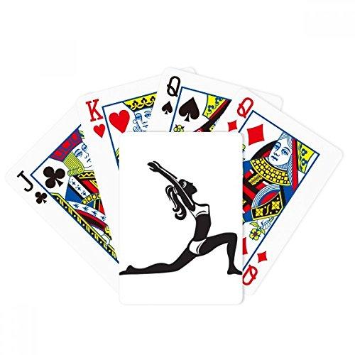 Yoga Keep Healthy Estiramiento Esquema Poker Jugar Tarjeta Mágica Divertida Juego De Mesa