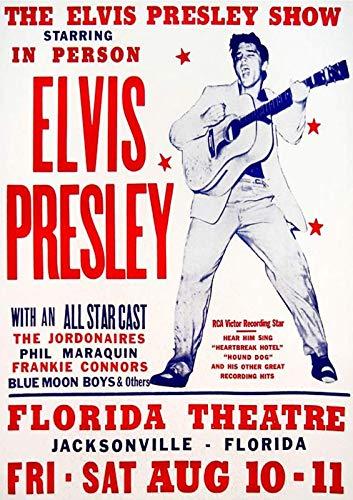 Generies Elvis Concert Blechschild Vintage Retro Eisen Wand Warnung Poster Dekor für Bar Cafe Geschäft Home Garage Büro