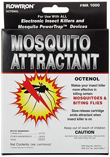 Flowtron MA-1000 Octenol Mosquito Attractant Cartridge