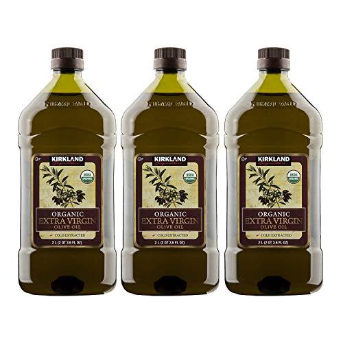 Kirkland Signature Organic Extra Virgin Olive Oil 2L - 3 Pack