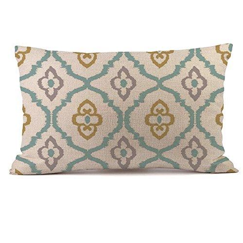 jieGorge Rectangle Cushion Cover Silk Throw Pillow Case Pillowcase, Home Decor Sales,for Halloween Day (H)