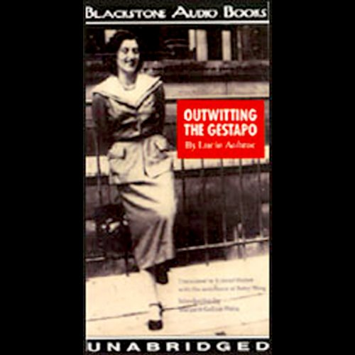 Outwitting the Gestapo audiobook cover art