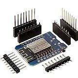 AZDelivery D1 Mini NodeMcu Wifi con ESP8266-12F CH340G Modulo WLAN Lua compatible con Arduino con E-Book incluido!