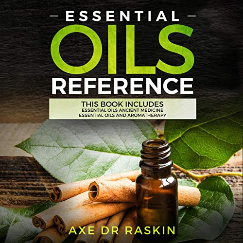 Essential Oils Reference audiobook cover art