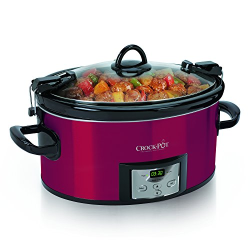 Crock-Pot SCCPVL610-R-A, 6 Qt, Red